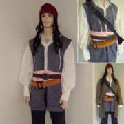 Capt. Jack Sparrows 2 x Pirate Waist Belts